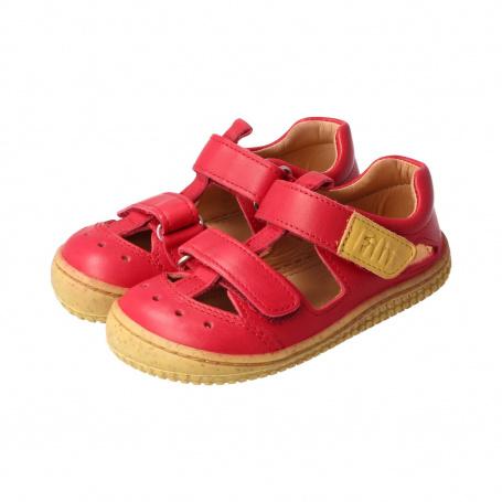 Filii Barefoot Filii Barefoot KAIMAN Bio Nappa Velcro fire red