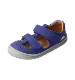Filii Barefoot Filii Barefoot Sandale KAIMAN textil leather ocean blue