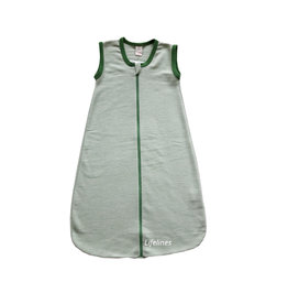 Lilano Lilano Schlafsack aus Wolle & Seide geringelt
