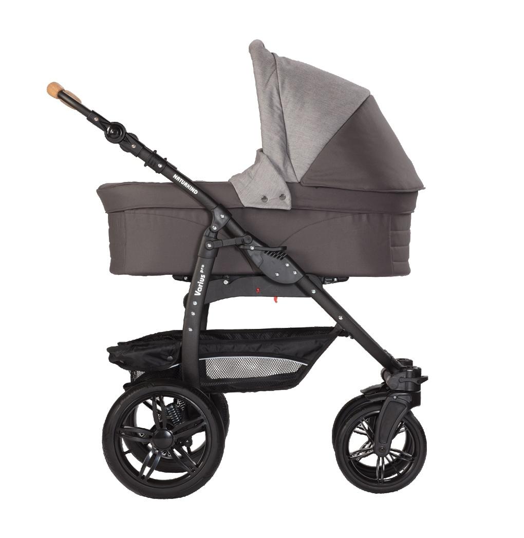 Naturkind Naturkind Varius Pro Babywagen Gestell & Korb