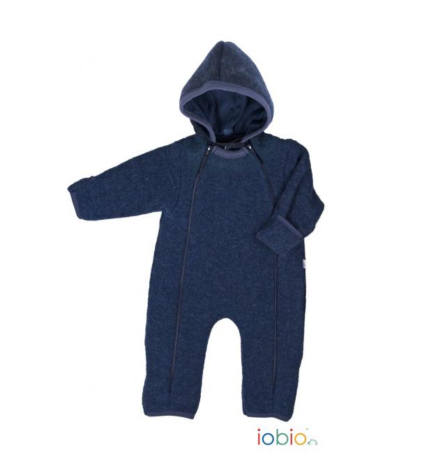 Popolini / Iobio Babyoverall von Popolini / Iobio aus Wollfleece