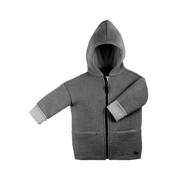 Pure Pure Pure Pure Wollwalkjacke/Mantel mit Reißverschluss  - Copy