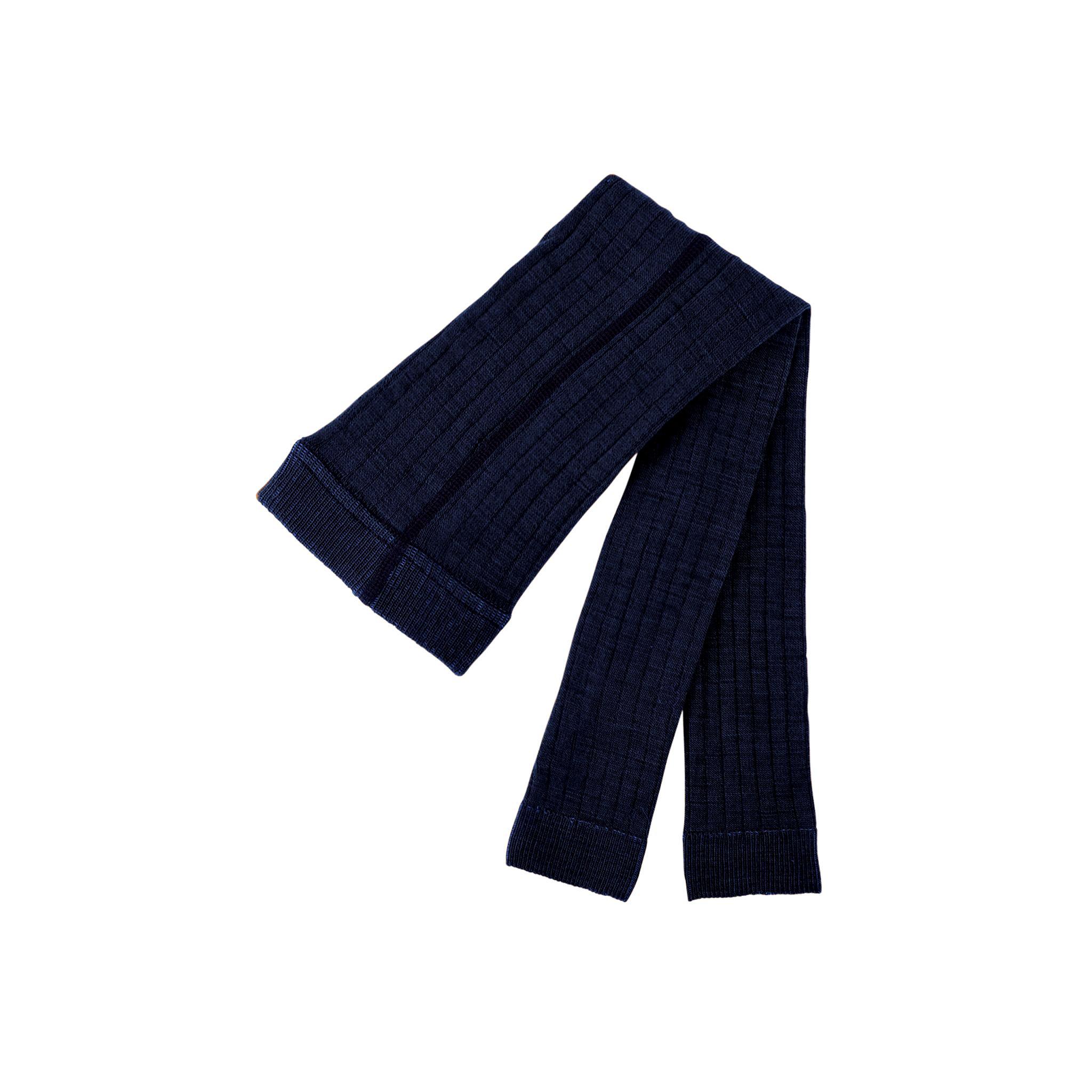 Pure Pure Woll-Leggings marine, innen Baumwolle