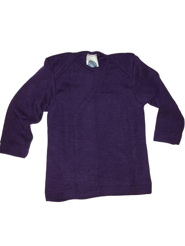 Cosilana Wolle/Seide Babyhemd langarm