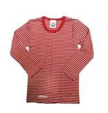 Cosilana Wolle/Seide Kinderunterhemd langarm Ringel