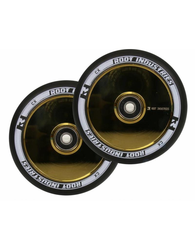 Root Industries Root air wielen 120mm goud