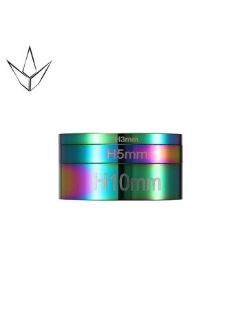 Blunt Envy Headset Spacer set Neo Chrome