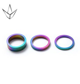 Blunt Envy Blunt spacers set  neo chrome