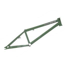 "PREMIUM BMX Premium BMX Frame 20,5"" Deathtrap Mat groen."