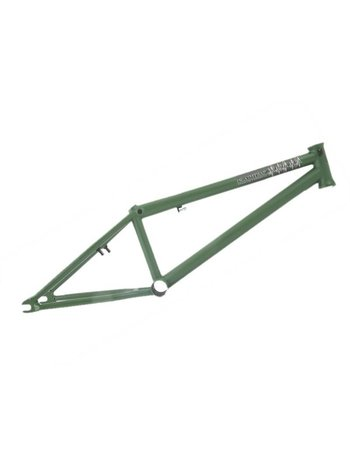 "PREMIUM BMX Frame 20,5"" Deathtrap Matte Green"