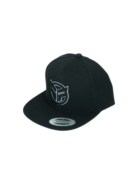 Federal Cap logo zwart wit
