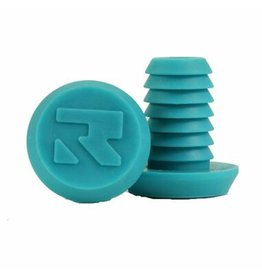 Root Root bar ends aqua blauw