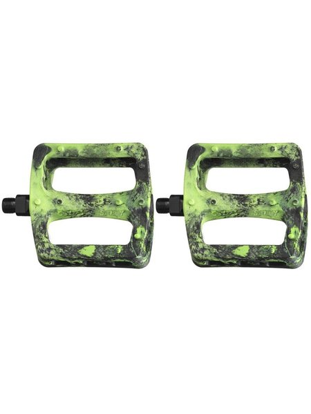 Odyssey Twisted pedalen Green/Black