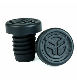 Federal FEDERAL rubber barends + steel ring zwart