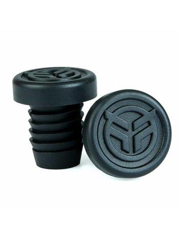 Federal rubber barends + steel ring zwart