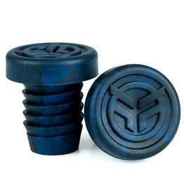 Federal FEDERAL rubber barends + steel ring blauw/zwart