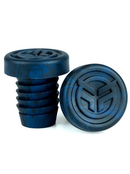Federal rubber barends + steel ring blauw/zwart