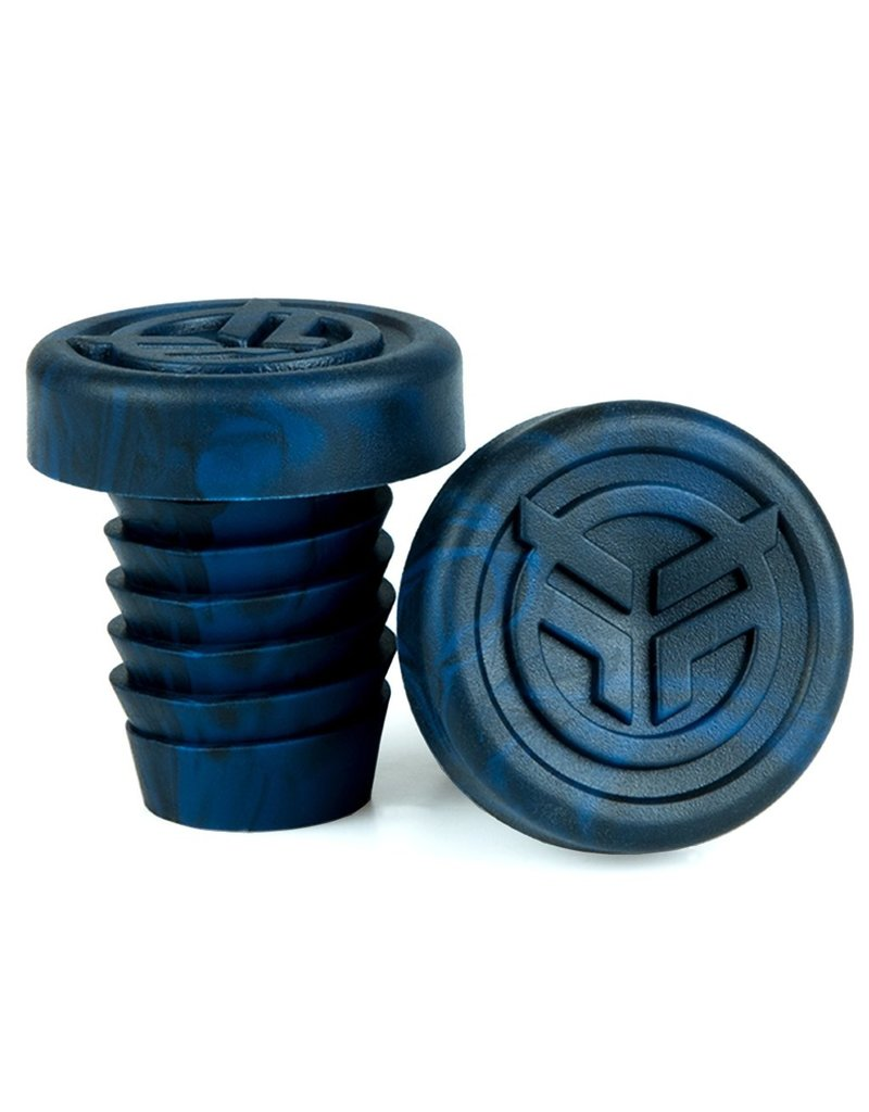 Federal FEDERAL rubber barends + steel ring blauw/zwart