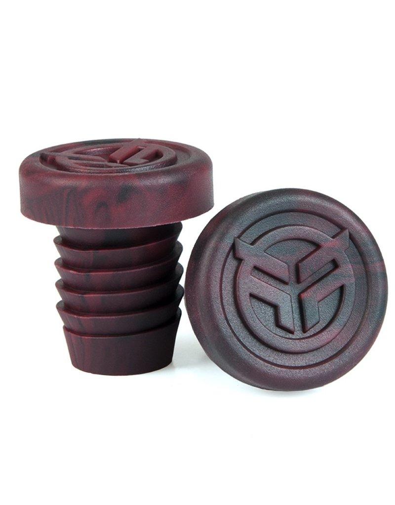 Federal FEDERAL rubber barends + steel ring rood/zwart