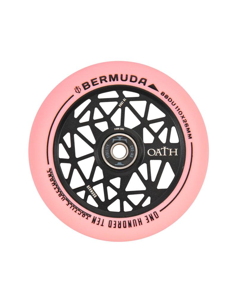 TRIAD Oath scooters Oath wielen bermuda 110mm zwart roze
