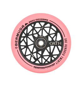 TRIAD Oath scooters Oath wielen bermuda 120mm zwart roze