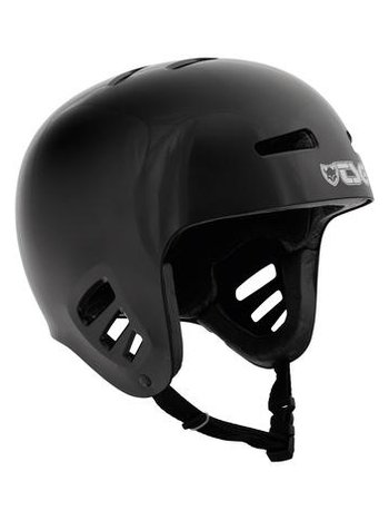 TSG Dawn Helm Solid Black