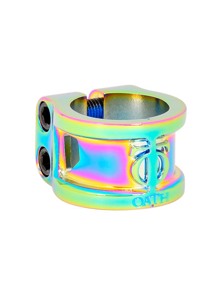 TRIAD Oath Clamp 2 Bolts Cage Neo Chrome