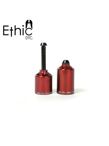 Ethic DTC  Steel Pegs Red