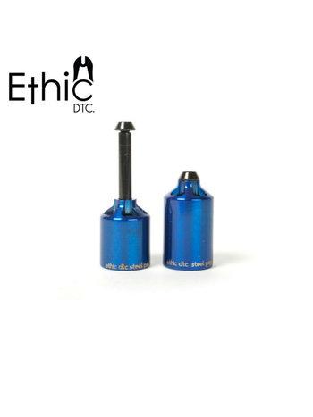 Ethic DTC  Steel Pegs Blue