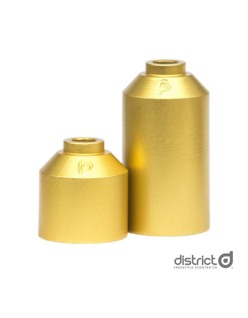 District stuntstep District HTPS215 steel pegs goud