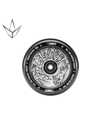 Blunt Envy Hollowcore Wheels Chrome/Black