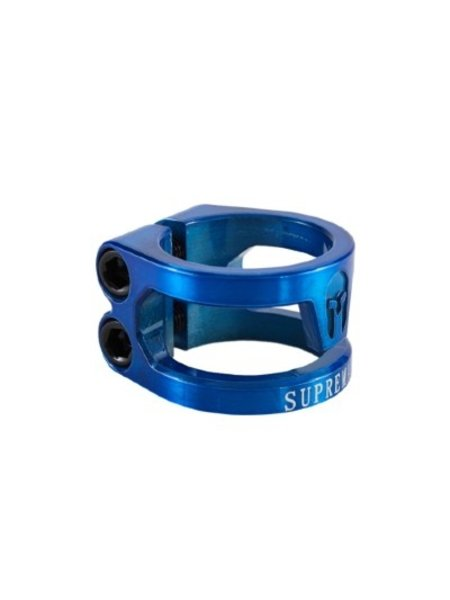 Supremacy Spartan Double Clamp Blue