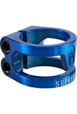 Supremacy scooter products Surpremacy Spartan double clamp blauw