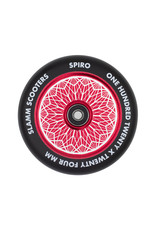 Slamm stuntstep Slamm Spiro Hollow Core wiel Rood 120mm