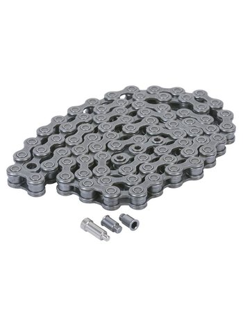 Odyssey Solid pin ketting zwart