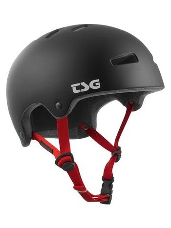 TSG Evolution Helm Super Light Solid Satin Black