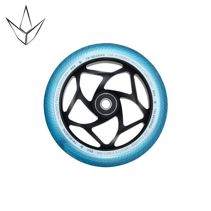 Blunt Envy TRI Wheels Black/Aqua