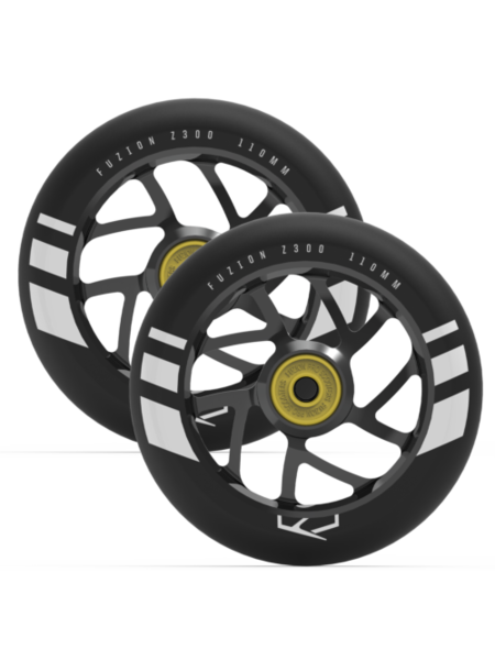 Fuzion  Flight 110mm Wheels Black