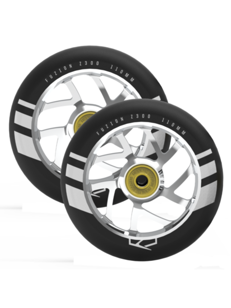 Fuzion  Flight 110mm Wheels Silver
