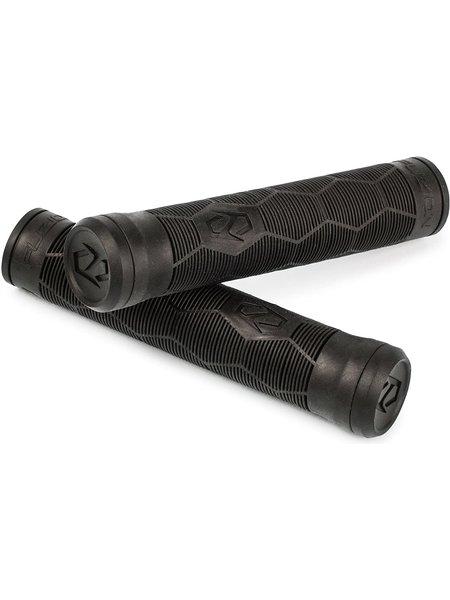Fuzion  Hex Swirl Grips Black