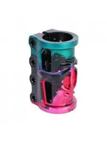 TRIAD Oath Cage 4 Bolts  SCS Black/Green/Pink