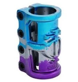 TRIAD Oath scooters Triad Oath clamp 4 bouten cage SCS grijs/blauw/paars