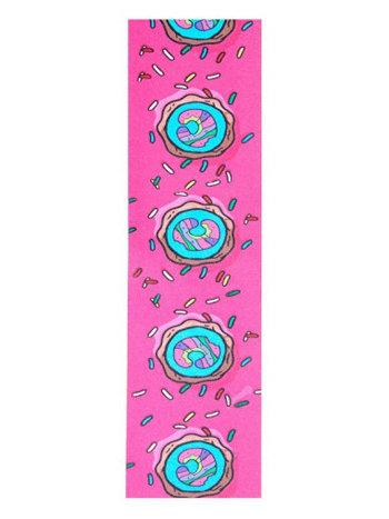 Chubby Wheels Donut Griptape Pink/Blue