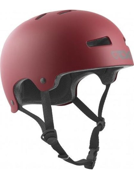 TSG Evolution Helm Solid Satin Oxblood