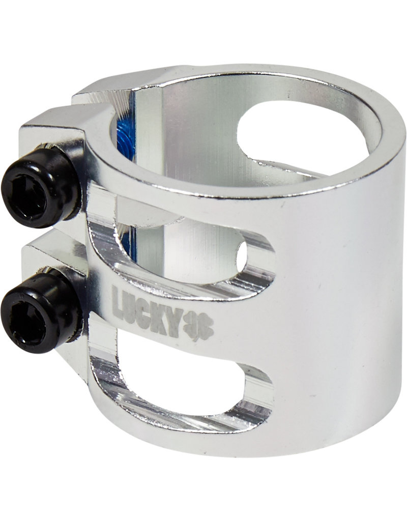 Lucky Lucky double clamp zilver (polished)