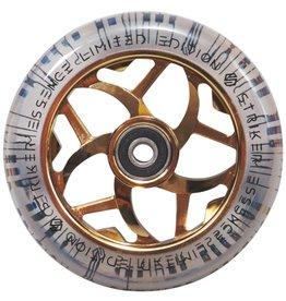 Striker Striker Essence clear Pu wielen 110mm goud