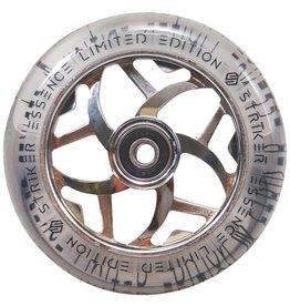 Striker Striker Essence clear Pu wielen 110mm zilver