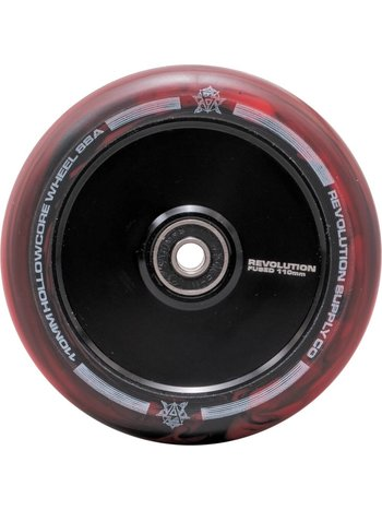 Revolution Fused Hollowcore Wheels Black/Red