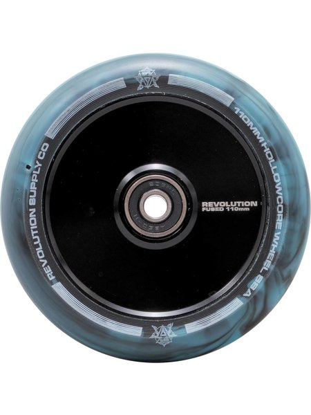 Revolution Fused Hollowcore Wheel Black/Blue