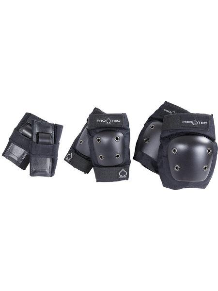 Pro-Tec  3 Pack Junior Bescherming Black